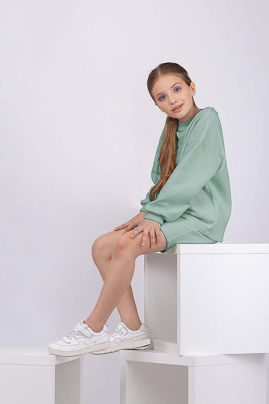 Шорты для девочек EZANNA 682316 купить оптом от производителя. Совместная покупка детской одежды в OptMoyo