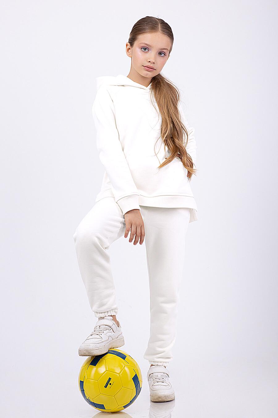 Костюм(Худи+Брюки) для девочек EZANNA 682442 купить оптом от производителя. Совместная покупка детской одежды в OptMoyo