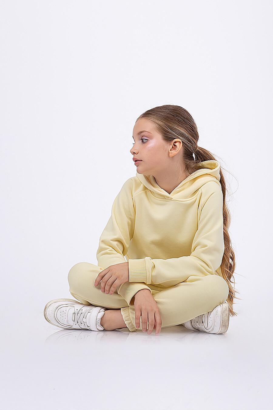 Костюм(Худи+Брюки) для девочек EZANNA 682532 купить оптом от производителя. Совместная покупка детской одежды в OptMoyo