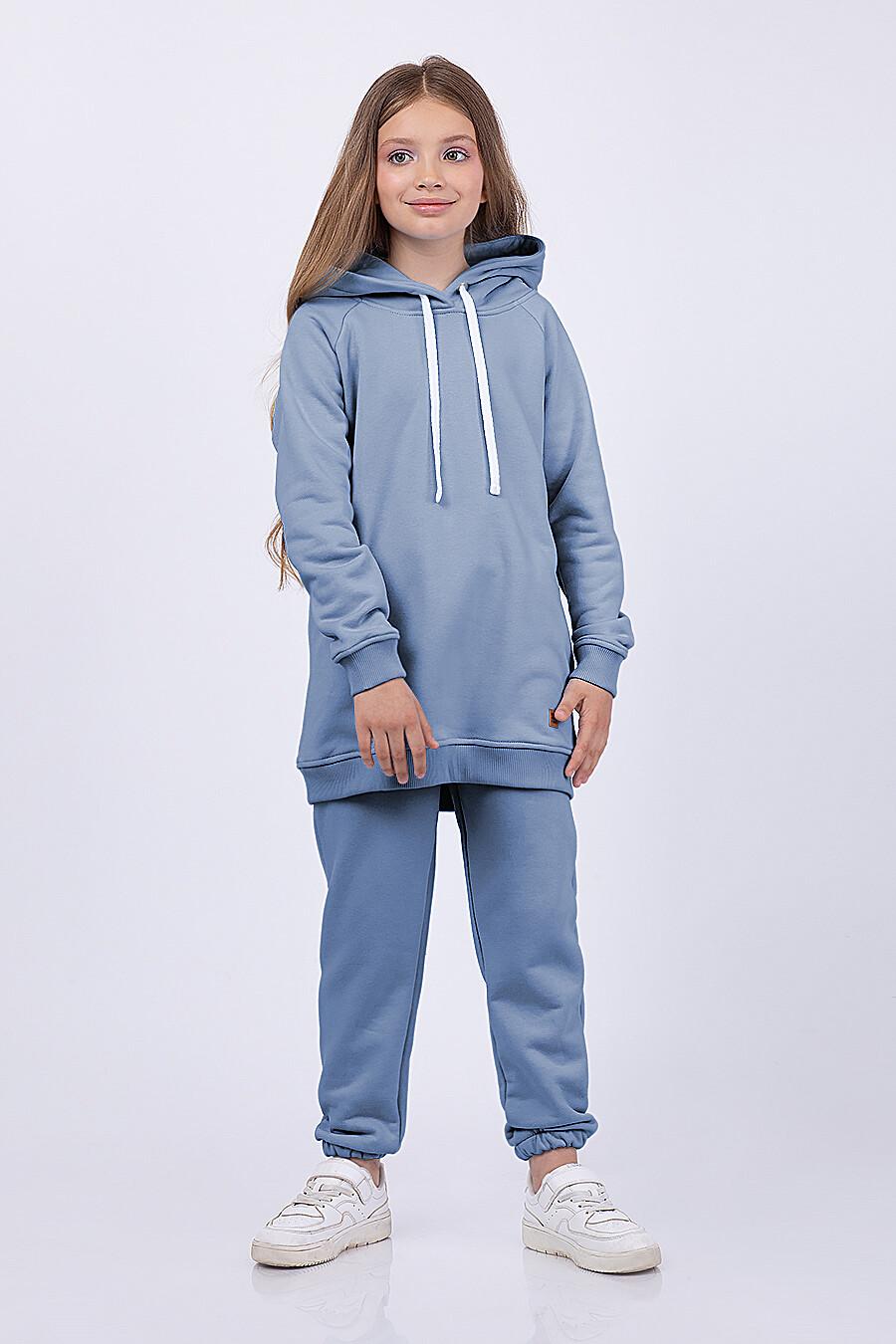 Брюки для девочек EZANNA 682676 купить оптом от производителя. Совместная покупка детской одежды в OptMoyo