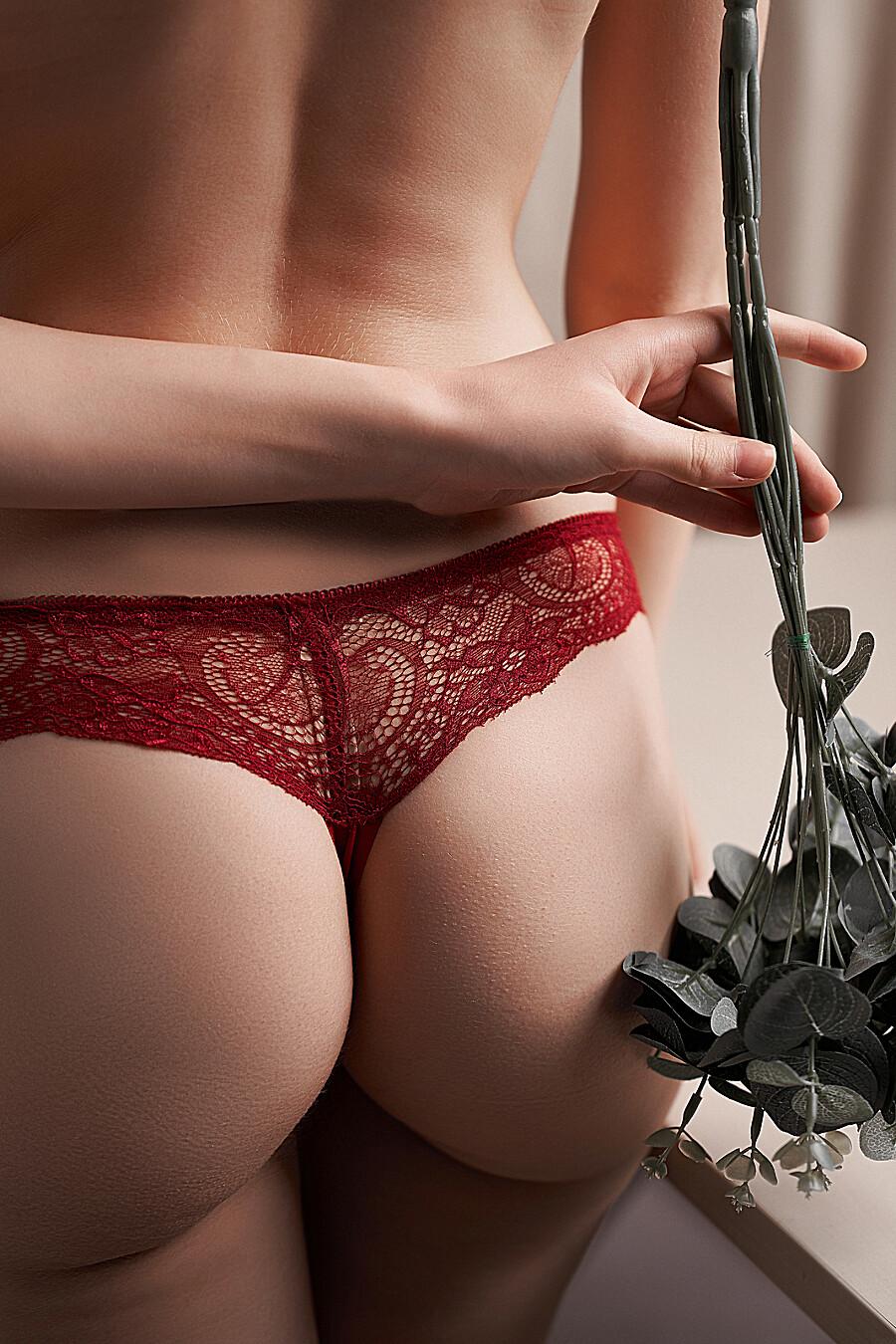 """Бесшовные трусики-стринги с кружевом женские трусики """"Призрачная красота"""" LE CABARET (699638), купить в Moyo.moda"""
