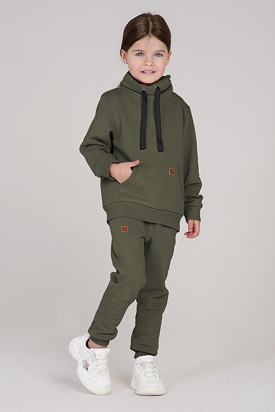 Костюм(Худи+Брюки) для девочек EZANNA 699977 купить оптом от производителя. Совместная покупка детской одежды в OptMoyo