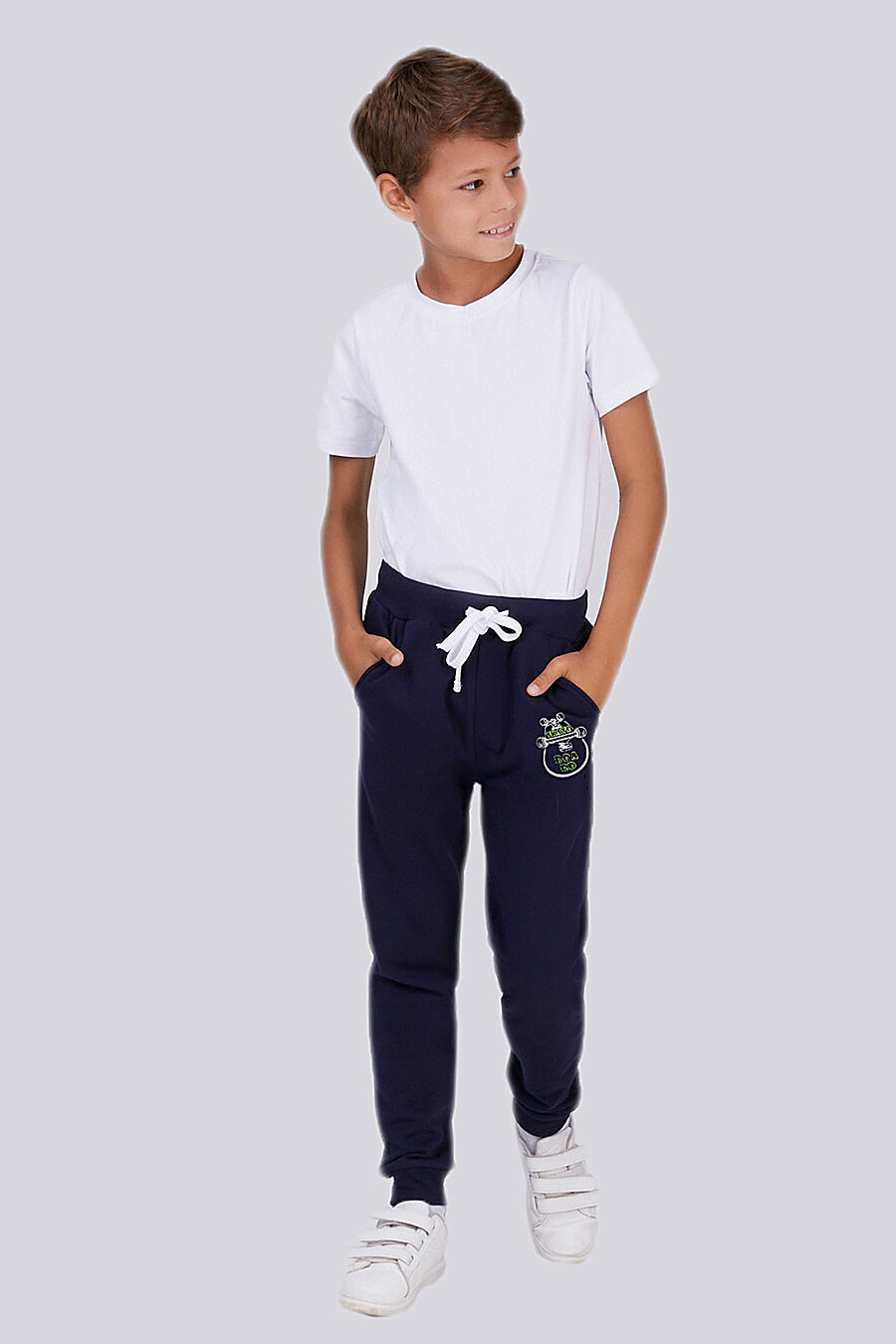 Брюки для мальчиков ROXY FOXY 700007 купить оптом от производителя. Совместная покупка детской одежды в OptMoyo