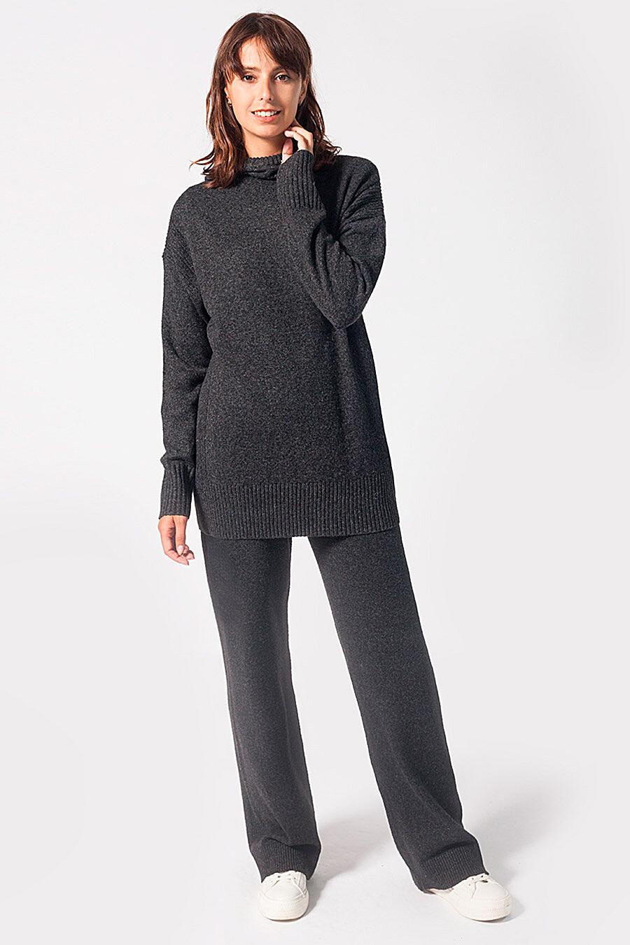 Брюки для женщин VILATTE 700232 купить оптом от производителя. Совместная покупка женской одежды в OptMoyo