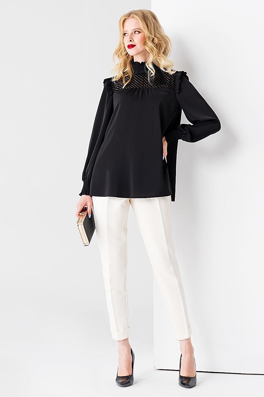 Блуза для женщин PANDA 700502 купить оптом от производителя. Совместная покупка женской одежды в OptMoyo