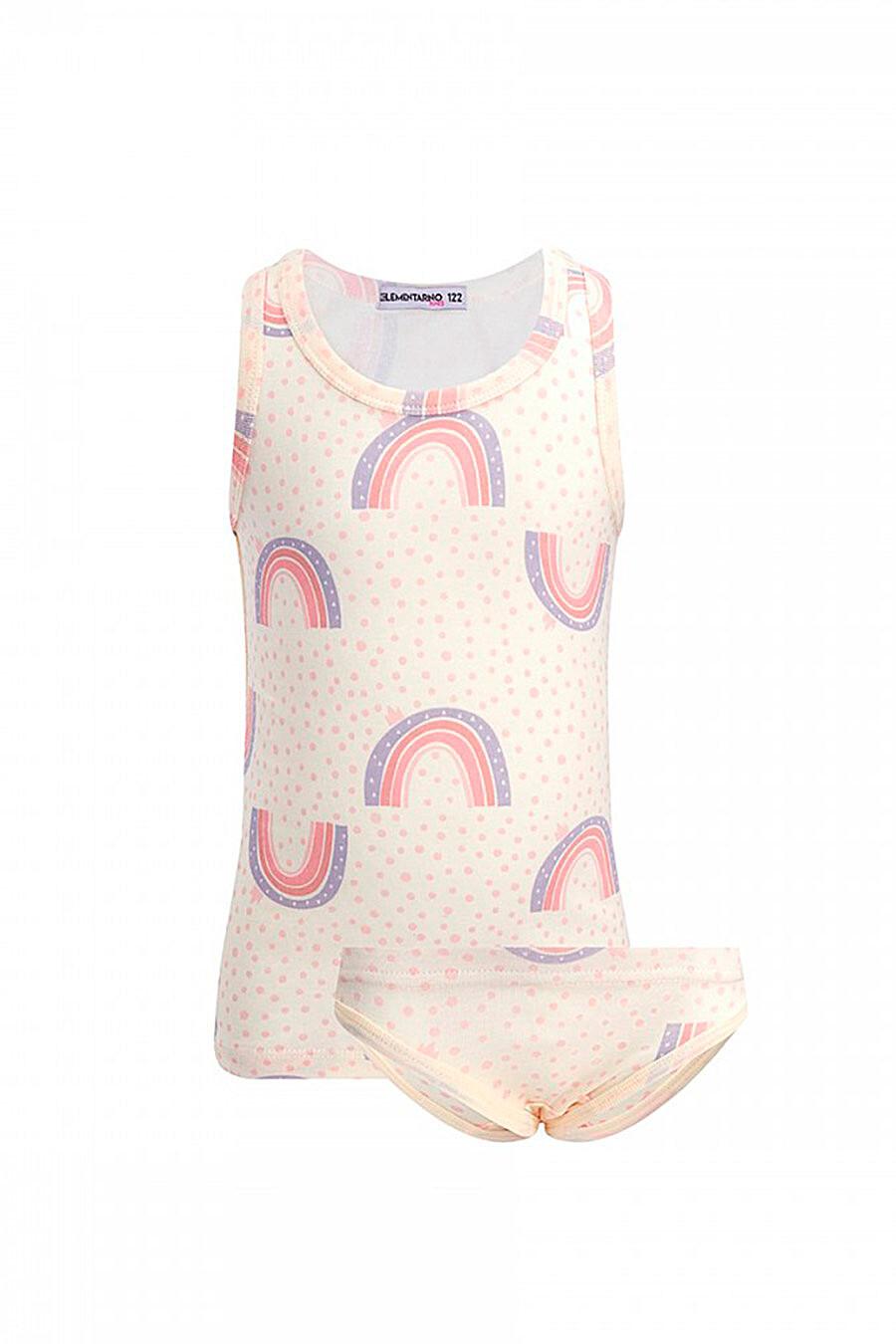 Комплект (Майка+Трусы) для девочек ROXY FOXY 707312 купить оптом от производителя. Совместная покупка детской одежды в OptMoyo