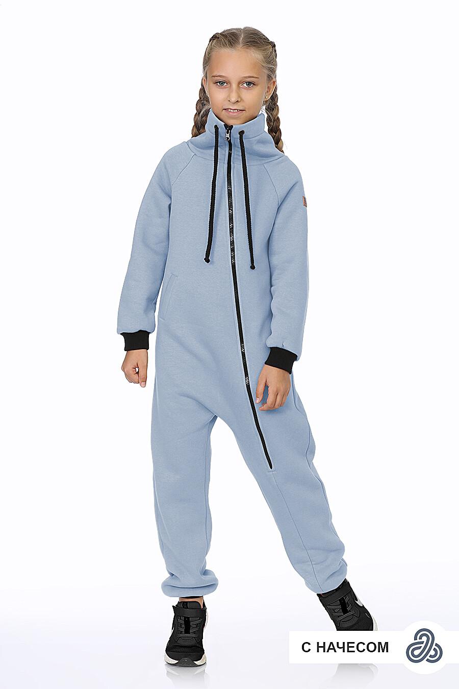 Комбинезон для девочек EZANNA 707501 купить оптом от производителя. Совместная покупка детской одежды в OptMoyo