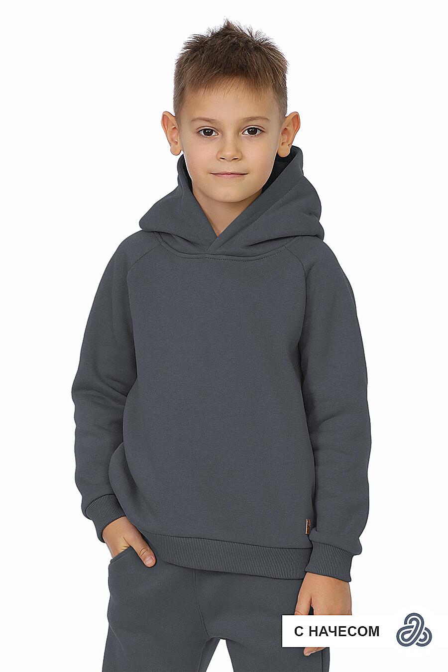 Худи для мальчиков EZANNA 707579 купить оптом от производителя. Совместная покупка детской одежды в OptMoyo
