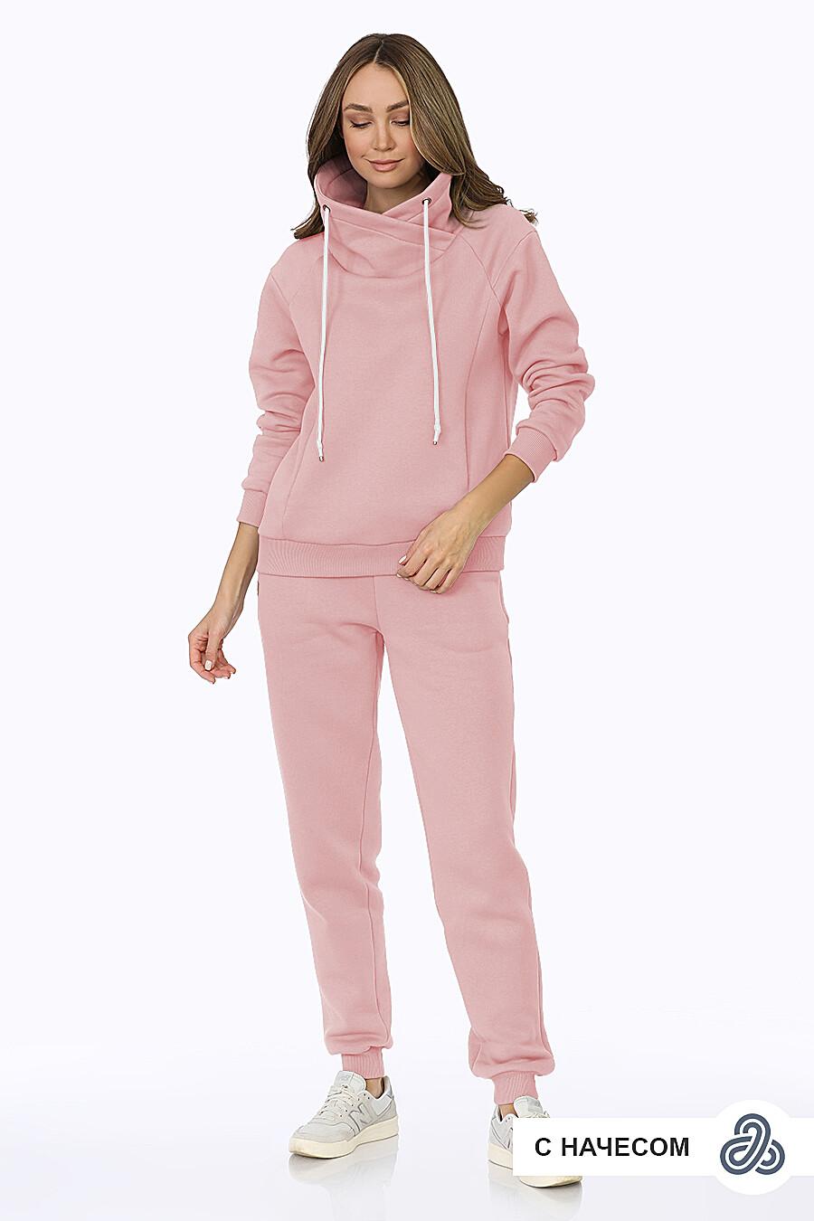 Костюм (Брюки+Худи) для женщин EZANNA 708233 купить оптом от производителя. Совместная покупка женской одежды в OptMoyo