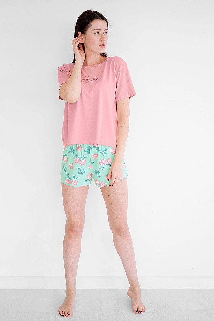 Пижама для женщин BOSSA NOVA 708542 купить оптом от производителя. Совместная покупка женской одежды в OptMoyo